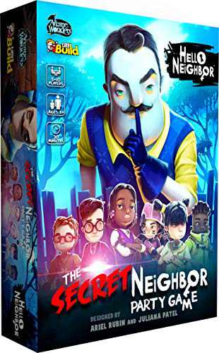 Arcane Wonders Hello Neighbor The Secret Neighbor Party Game