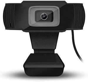 1080P HD Webcam with Dual Microphones - HD Auto Focus Camera Widescreen USB Computer Camera for PC Mac Laptop Desktop Video Calling Conferencing Gaming Conferencing Black