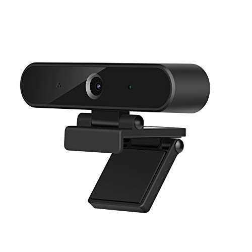 1080P Webcam with Microphone, Desktop Computer Camera, HD Video Camera for Laptop Desktop Computer Monitor, for Live Streaming/Calling/Recording/Conferencing/Gaming Skype/YouTube/Zoom/Facetime