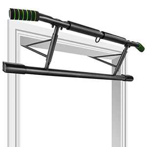 SOONHUA Doorway Pull Up Bar Multi-Function Doorway Chin Pull Up Bar with Multi-Grip Chin-Up Body Heavy Duty Pull Up Bar Stand for Home Gym Exercise Fi