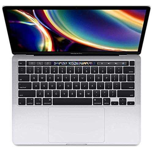 2020 Apple MacBook Pro with Intel Processor (13-inch, 16GB RAM, 512GB SSD Storage) - Silver