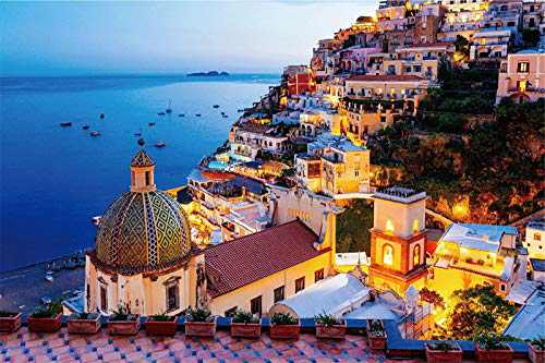 "Puzzles for Adults 1000 Piece Jigsaw Puzzles 1000 Pieces for Adults Kids Large Puzzle Game Toys Gift Amalfi Coast 27.2"" x 20.1"""