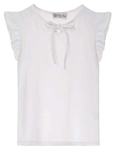 Toddler Girls' Short-Sleeve Shirts and Tops Ivory 5Y