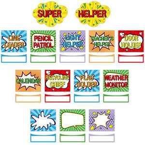 Classroom Jobs Bulletin Board Set Super Helper Bulletin Board Decoration Bright Color Class Decoration