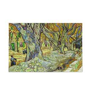 Vincent Van Gogh Village Art Puzzle for Adults 500 Piece Wooden Jigsaw Puzzles Table Game Kids Family