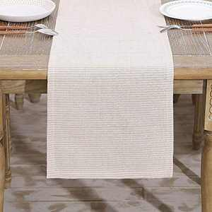 HARORBAY Fall Table Runner 13 x 104 Inch, Rustic Farmhouse Table Runners, Dresser Scarf for Autumn Harvest (Alice)