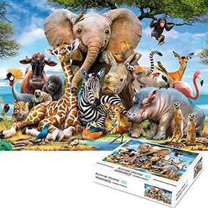 Puzzles for Adults 1000 Pieces, WizPower Jigsaw Puzzles 1000 Pieces for Adults, 1000 Piece Puzzles Educational Intellectual Fun Game for Kids Adults …