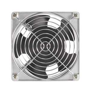 HG POWER 12308 Muffin Fan Aluminium Alloy AC Axial Flow Fan 120mm x 38mm Low Speed for DIY Cooling Ventilation Exhaust Projects