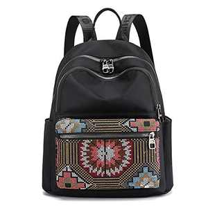 Nylon Backpacks for Women Mini Backpack Purse Small Fashion Lightweight Casual Daypack for Lady Teenager Girls