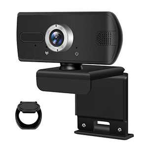 Webcam with Microphone,HD1080P Webcam,Manul Focus,HD USB Computer Camera for Video Calling,Conference,Live Streaming,Online Lessons