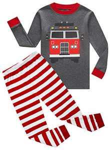 Boys fire truck pjs Sleepwear Pajama Set Size 3