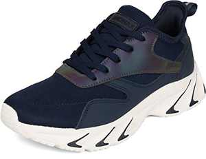 BRONAX Men's Casual Tennis Running Sneakers, Size 13 Comfortable Walking Training Gym Sport Fitness Workout Athletic Shoes Zapatos de Tenis para Hombres for Male Azul Blue 48