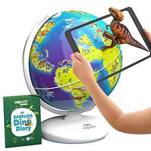 Shifu Orboot Dinos AR Globe (App Based) - World of Dinosaur Toys, Educational Toy for Kids. Gift for Boys & Girls 4 Years & up, M (Shifu027)