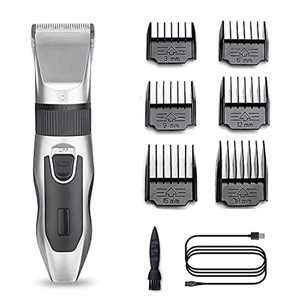 Hair Clipper for Men, Professional Cordless Clippers, Rechargeable Head Shaver, Hair Trimmer Kit, 6 in 1 Mens Hair Cipper Set