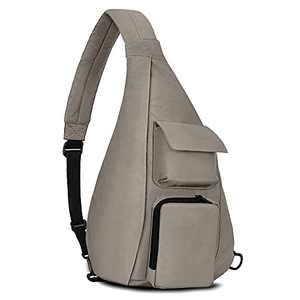 OSOCE Sling Bag, Crossbody Shoulder Backpack for Men Travel, Casual Daypacks Lightweight Anti-Theft Waterproof