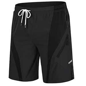 MAGCOMSEN Gym Shorts for Men with Pockets Athletic Shorts Gym Shorts for Men Bike Shorts Work Quick Dry Shorts Yoga Shorts Gym Shorts Workout Shorts Fishing Shorts Black