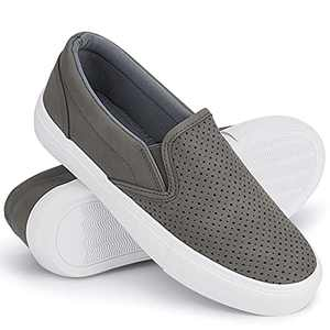 JENN ARDOR Women's Slip On Sneakers Fashion Flats Shoes Comfortable Casual Shoes for Walking