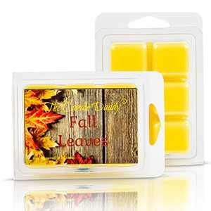 Fall Leaves - Autumn Scent- Maximum Scented Wax Melts- 1 Pack- 2 oz- 6 Cubes