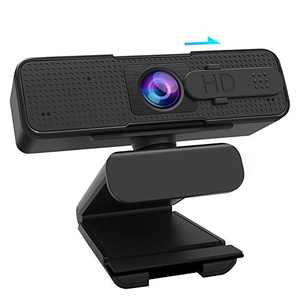 1080P HD Webcam, Remoukia AutoFocus PC USB Camera with Privacy Cover, Computer Webcam with Microphone,Laptop Streaming Camera for Video Calling, Conferencing, Recording, Working from Home, Zoom