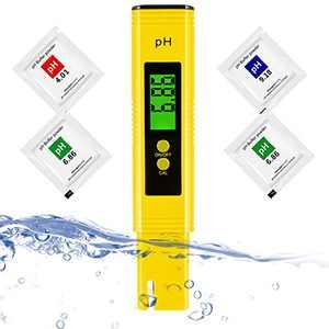 pH Tester Digital, Portable pH Water Tester, High Accuracy pH Tester