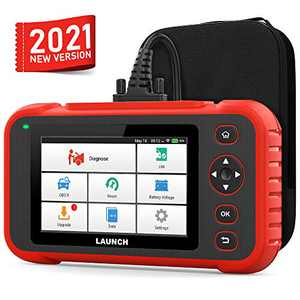 "LAUNCH 129i Car Diagnostic Scanner OBD2 Engine ABS SRS Transmission Code Reader EPB SAS TPMS Oil Reset and Throttle Matching Scan Tool Android WiFi 5"" Touch Screen Free Update"
