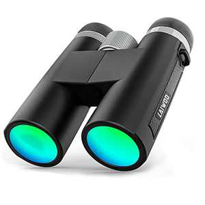 LAIWOO 12x42 Binoculars for Adults,Compact Binoculars HD Waterproof, Binoculars for Bird Watching Travel Stargazing Hunting Outdoor Sports Games