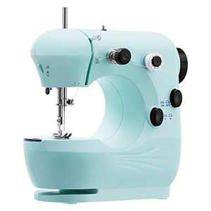 Easycosy Mini Electric Sewing Machine for Family Use Portable Household Sewing Machine Suitable for Beginner Tailors Free-Arm Crafting Mending Machine
