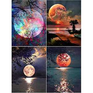 DIY 5D Diamond Painting Set, Crystal Rhinestone Diamond Embroidery Paintings Pictures Arts Craft for Home Wall Decor, Adults and Kids…
