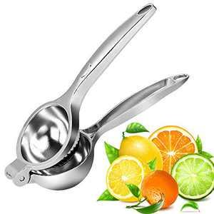Manual Lemon Squeezer,Handheld Press Citrus Juice Handles Heavy Duty Manual Juicers Squeezer with Large Bowl for Oranges,Lemons,Citrus