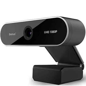 1080p Webcam With Microphone&Privacy Cover, UHD Desktop Streaming Webcam,30fps,145°Wide Angle,2 Megapixel,USB Computer Web Camera for PC/Laptop/Desktop/Mac, Skype, Video Call, Meeting, Zoom(Plug&Play)