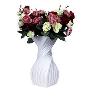 Modern Spiral Decorative vase Designed for Enhancing The ambiance of Any Room - Ideal for Weddings, Home décor, Kitchen or Office