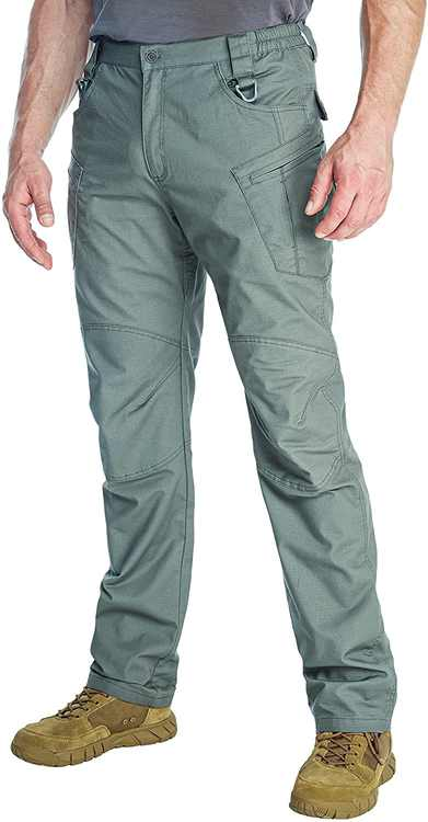 ANTARCTICA Mens Tactical Pants Lightweight Cargo Pants Military Casual Army Trousers Combat Fishing Travel Hiking