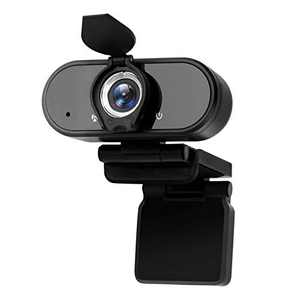 Webcam with Microphone,1080p HD Webcam Streaming Computer Web Camera USB Cable for PC Laptop Desktop Video Calling,Conferencing on line Classes