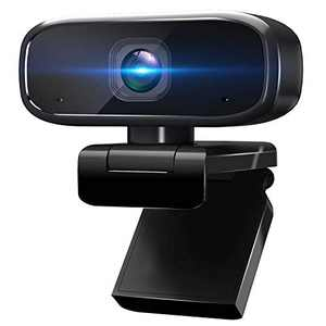 1080P Webcam with Microphone for Desktop, Intpw Web Cameras for Computers & Laptop, Streaming USB Webcam for Online Teaching and Gaming, PC Camera Compatible with Zoom/Skype/Facetime/Teams