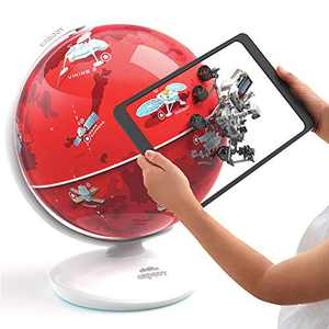 Shifu Orboot Mars (App Based) - Interactive AR Globe for Planet Mars Research, Space Adventure Educational Toy for Boys & Girls - STEM Toy & Gift for Kids Ages 6 - 12 Years (SHIFU028)