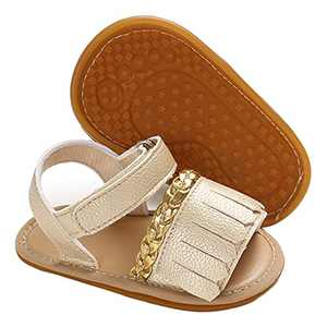 Baby Girl Sandals Summer Crib Shoes Bowknot Soft Sole Infant Girls Princess Dress Flats First Walker Shoes 3-6 month
