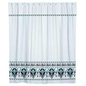 Gronda Boho Shower Curtain Fabric Bathroom Curtains with Hooks Bohemian Shower Room Decor Modern Tribal Home Decoration 72×72 Inch