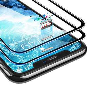 Humixx Screen Protector for iPhone XS/X, iPhone 11 Pro [Military Grade Shatterproof] [Industrial Grade Dust-proof] [Full Cover] Tempered Glass Protector Film for iPhone 11 Pro/XS/X-5.8 Inch - 2 Packs