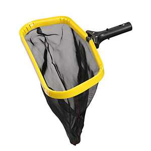BUYOOKAY Pool Leaf Skimmer Net, Water Cleaner with Reinforced Deep Mesh Skim Bag Pool Nets for Cleaning Swimming Pools,Hot Tubs,Spas and Fountain (1pcs)