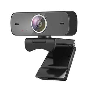 1080P Webcam with Microphone, ZENEZ Super HD Web Cam Streaming Cameras USB Computer Camera PC Camera for Video Conferencing, Calling, Meeting, Recording, Teaching, Compatible with PC/Desktop/Laptop