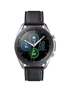 SAMSUNG Galaxy Watch 3 (41mm, GPS, Bluetooth) Smart Watch with Advanced Health Monitoring, Fitness Tracking, and Long Lasting Battery - Mystic Silver (US Version)