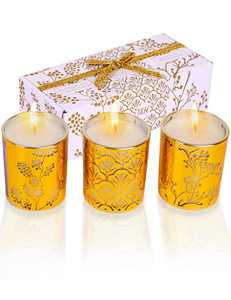 Aromatherapy Candle Sets | Relaxation Gifts for Women | Highly Scented Soy Candles Gift Box for Birthday | Luxury Candles Stress Relief Gifts for Men | Scented Candles for Home