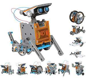 Solar Robot Kits STEM Toys for Boys and Girls Science Kits for Kids