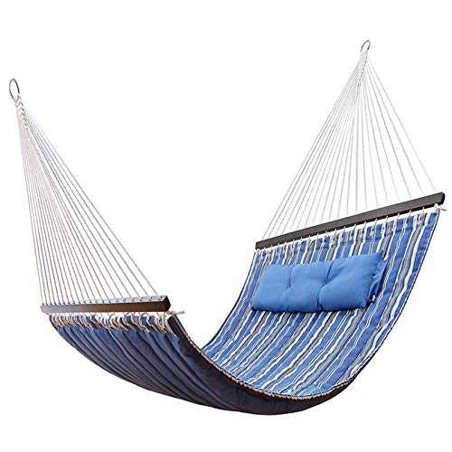 KingCamp Hammock Lightweight Warm Deluxe Padded with Pillow for Outdoor Camping Hiking, Packable