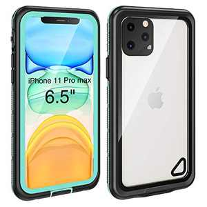 iPhone 11 Pro Max Waterproof Case (6.5 inch) , Full Sealed Rugged with Clear Sound Quality Waterproof/Shockproof/Snowproof/Dustproof , High Sensitive Touch Screen For iPhone 11 Pro Max (Aqua Blue)