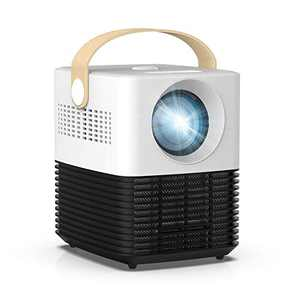 """Mini Projector Portable, Salange 2020 Newest Movie Projector with Dust-Proof, ±30° Electronic Keystone Correction,50,000 Hrs LED Lamp Life, 180"""" Display, Support 1080P, Built-in Dual HiFi Speaker"""