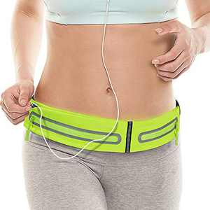PONRAY Running Belt Fanny Pack for Women Men, Phone Holder for Running Workout Fitness Walking Jogging Exercise Sport Gym for iPhone 11 Pro Max 8 Plus Samsung Galaxy S10
