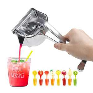 Lemon Squeezer Manual Fruit Juicer - Alloy Orange Juice Squeezer for Orange, Lime Squeezer for Lime, Citrus Juicer Hand Press for Pomegranate, Lemon