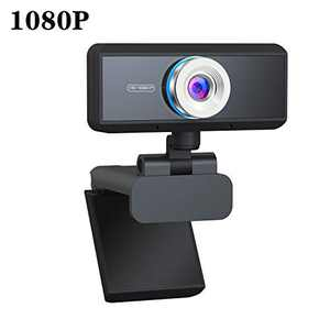 PC Webcam with Microphone, 1080P HD Webcam Streaming Computer Web Camera Live Streaming Webcam Widescreen HD Video Webcam, USB Computer Camera for PC Laptop Desktop Video Calling, Conferencing