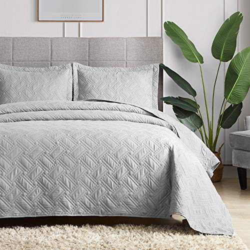 Hansleep Quilt Set Lightweight Bed Decor Coverlet Set Comforter Bedding Cover Bedspread for All Season Use (Cookie, Full/Queen 90x96inch)